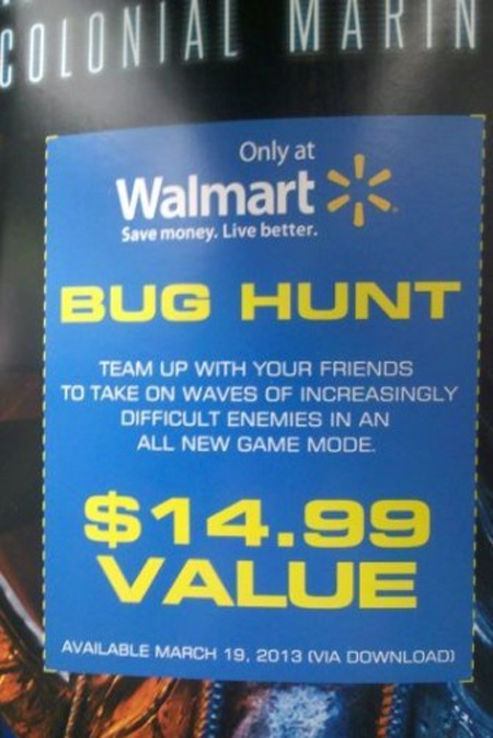 Aliens: Colonial Marines - Bug Hunt