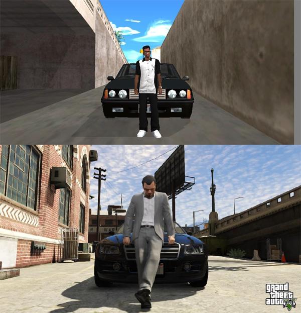 GTA 5, Grand Theft Auto: San Andreas